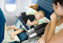 Fly LegsUp 飛行吊床,原來搭廉航也能很享受!