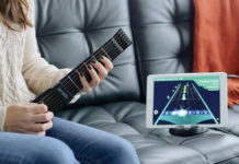 一圓小時候的音樂夢,Jamstik+ 智能電結他